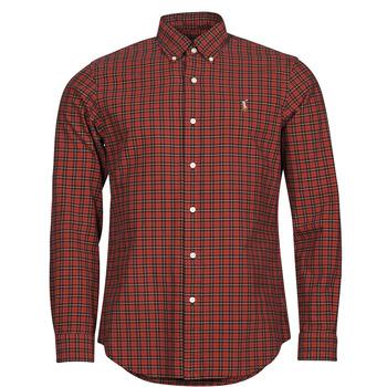 Textil Homem Camisas mangas comprida Polo Ralph Lauren TALIKA Vermelho / Multicolor