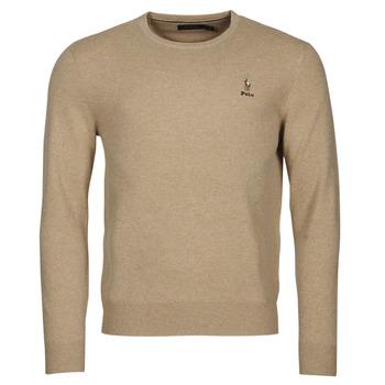 Textil Homem camisolas Polo Ralph Lauren SOLIMMA Camel