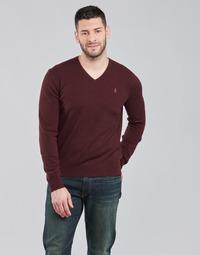 Textil Homem camisolas Polo Ralph Lauren SOLIMMA Bordô