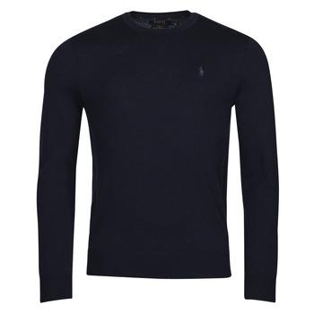 Textil Homem camisolas Polo Ralph Lauren AMIRAL Azul