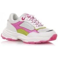 Sapatos Rapariga Sapatilhas MTNG DEPORTIVAS NIÑA MUSTANG BEIGE 48201 Branco