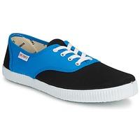 Sapatos Sapatilhas Victoria INGLESA BICOLOR Azul / Preto