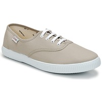 Sapatos Sapatilhas Victoria INGLESA LONA Bege