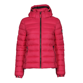 Textil Mulher Quispos Superdry CLASSIC FUJI PUFFER JACKET Rosa