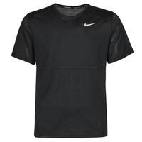 Textil Homem T-Shirt mangas curtas Nike  Preto