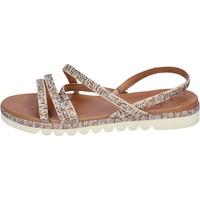 Sapatos Mulher Sandálias Femme Plus BJ888 Bege
