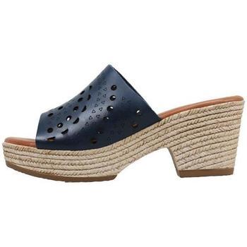 Sapatos Mulher Chinelos Sandra Fontan  Azul