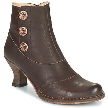 Sapatos Mulher Botins Neosens ROCOCO Castanho