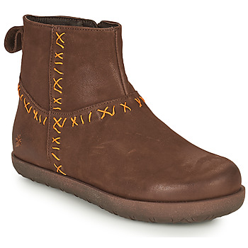 Sapatos Mulher Botas baixas Art RHODES Castanho