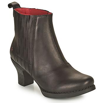Sapatos Mulher Botins Art HARLEM Preto