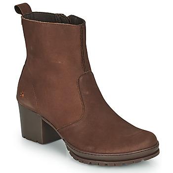 Sapatos Mulher Botins Art CAMDEN Castanho