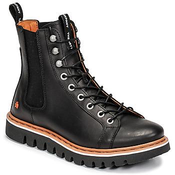 Sapatos Botas baixas Art TORONTO Preto