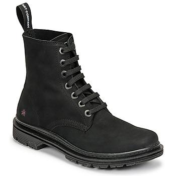 Sapatos Botas baixas Art BIRMINGHAM Preto