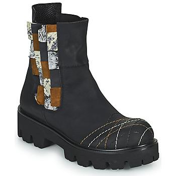 Sapatos Mulher Botas baixas Papucei WELS Preto