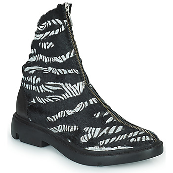 Sapatos Mulher Botas baixas Papucei KAEL Preto / Branco