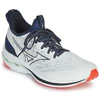 Sapatos Homem Sapatilhas de corrida Mizuno WAVE RIDER NEO Branco / Azul
