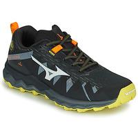 Sapatos Homem Sapatilhas de corrida Mizuno WAVE DAICHI 4 Preto / Laranja
