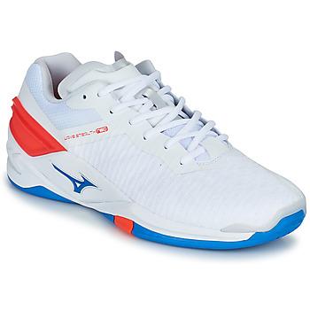 Sapatos Homem Desportos indoor Mizuno STEALTH NEO Branco / Azul