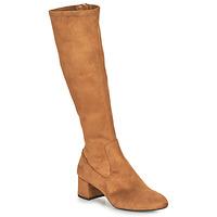 Sapatos Mulher Botas Unisa LARTI Camel