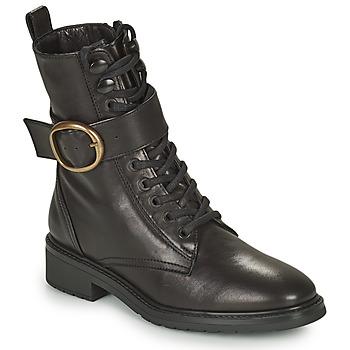 Sapatos Mulher Botas baixas Unisa EDECAN Preto