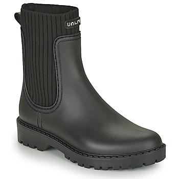 Sapatos Mulher Botas de borracha Unisa AYNAR Preto