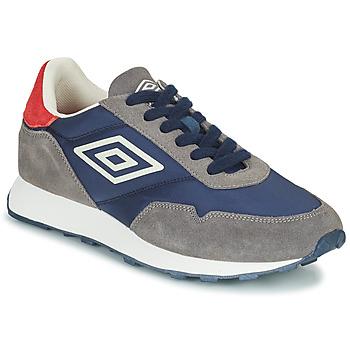 Sapatos Homem Sapatilhas Umbro KARTS Cinza / Azul