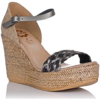 Sapatos Mulher Sandálias Porronet 2747 Cinza