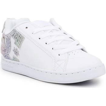 Sapatos Mulher Sapatilhas DC Shoes DC Court Graffik 300678-TRW white