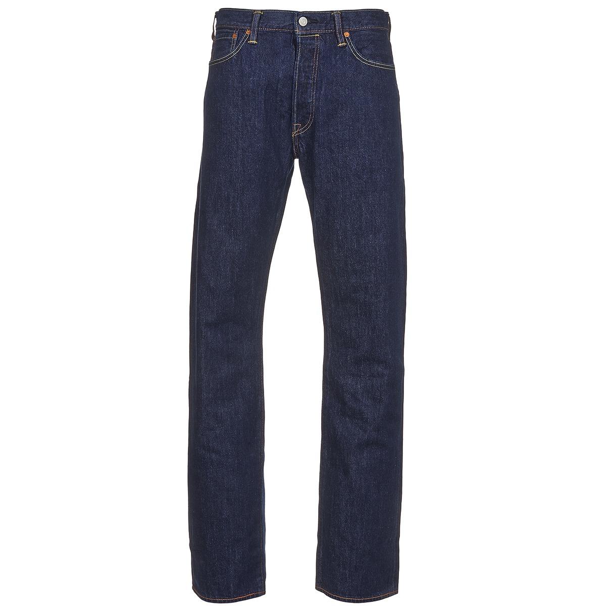 2e28f497d Levi s 501 LEVIS ORIGINAL FIT Azul - Entrega gratuita com a Spartoo.pt ! -  Textil Calças Jeans Homem 91