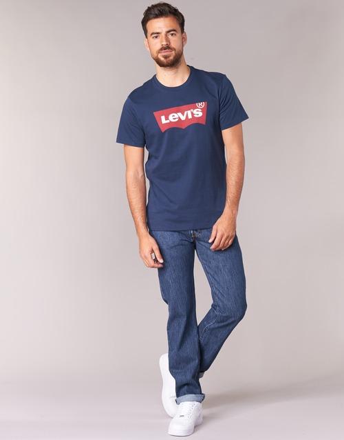 Textil Homem Calças Jeans Levi's 501 LEVIS ORIGINAL FIT Stonewash