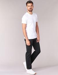 Textil Homem Calças Jeans Levi's 501 LEVIS ORIGINAL FIT Preto