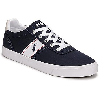 Sapatos Sapatilhas Polo Ralph Lauren HANFORD RECYCLED CANVAS Marinho