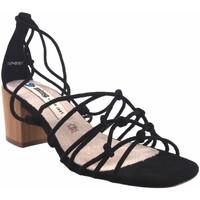 Sapatos Mulher Sandálias MTNG Sandalia señora MUSTANG 50479 negro Preto