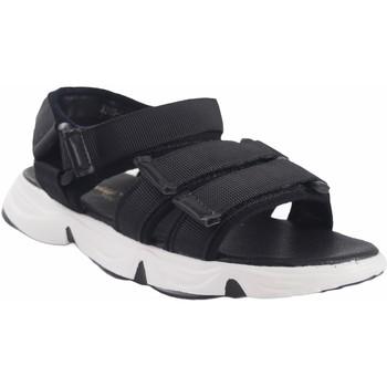 Sapatos Rapariga Sandálias desportivas Bubble Bobble Sandalia niña  a3289 negro Preto