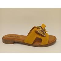 Sapatos Mulher Chinelos Bipedes ANA FILIPA 2092 Amarelo
