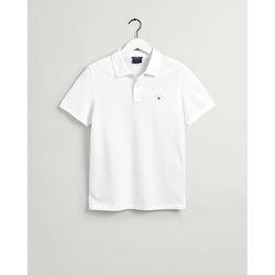 Textil Homem Polos mangas curta Gant Polo Original piqué Branco