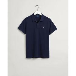 Textil Homem Polos mangas curta Gant Polo Original piqué Azul