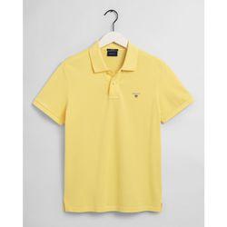 Textil Homem Polos mangas curta Gant Polo Original piqué Amarelo