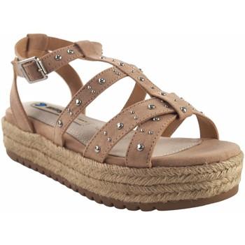 Sapatos Mulher Sandálias MTNG Sandalia señora MUSTANG 50773 beig Branco