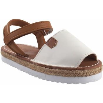 Sapatos Rapariga Sandálias Bubble Bobble Sandalia niña  a3301 blanco Branco