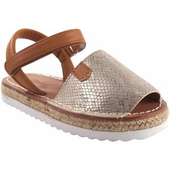 Sapatos Rapariga Sandálias Bubble Bobble Sandalia niña  a3301 oro Ouro