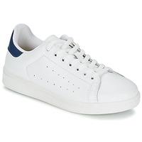 Sapatos Homem Sapatilhas Yurban SATURNA Branco / Marinho