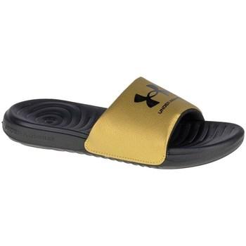Sapatos Mulher chinelos Under Armour Ansa Fixed Slides Amarelo, Grafite