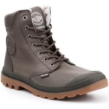 Sapatos Homem Sapatilhas de cano-alto Palladium Pampa HI Cinzento