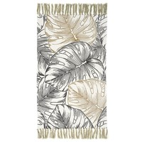 Casa Tapetes The home deco factory JUNGLY White-black