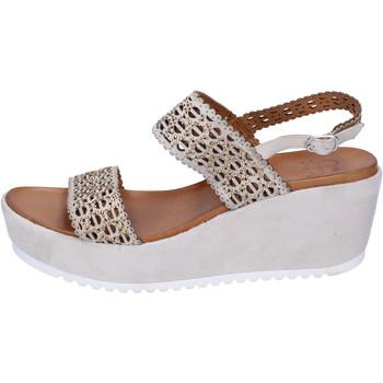 Sapatos Mulher Sandálias Femme Plus BJ892 Bege