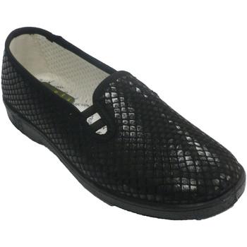 Sapatos Mulher Chinelos Doctor Cutillas Tênis feminino simulando sapato Doctor C negro