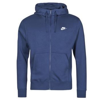 Textil Homem Sweats Nike NIKE SPORTSWEAR CLUB FLEECE Azul / Marinho / Branco