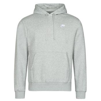 Textil Homem Sweats Nike NIKE SPORTSWEAR CLUB FLEECE Cinza / Branco