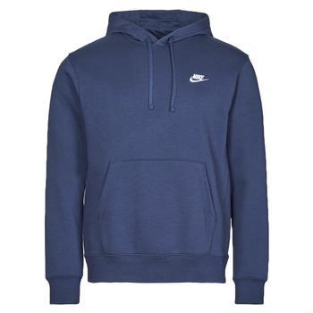 Textil Homem Sweats Nike NIKE SPORTSWEAR CLUB FLEECE Marinho / Branco